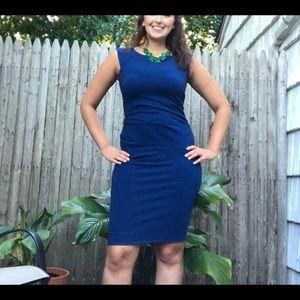 Diane Von Furstenberg | Navy Midi Dress